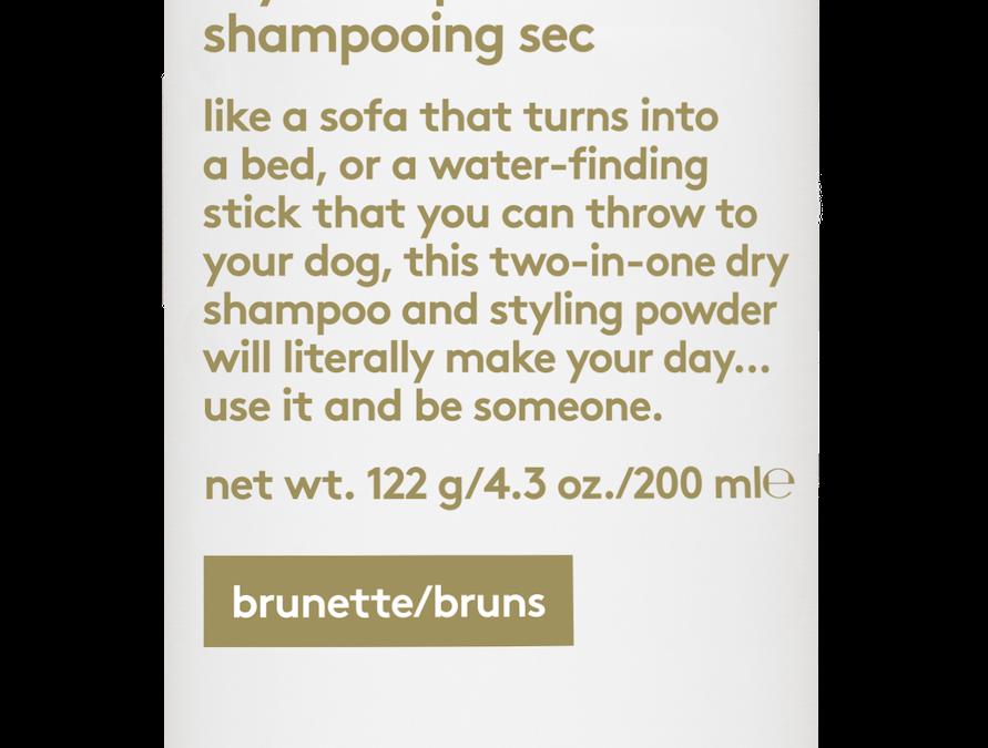 Produkt des Monats Februar: EVO water killer dry shampoo
